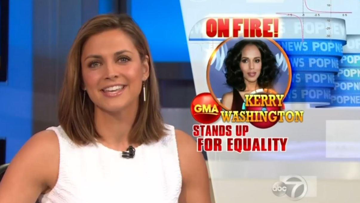 Good Morning America Scandal : Calling all glaadiators abc nbc cheer scandal star