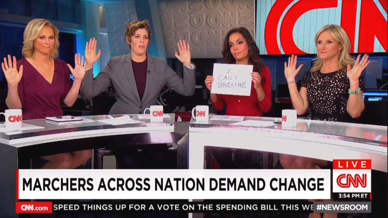 CNN Panel Mimics Discredited 'Hands Up, Don't Shoot,' Exalt ...