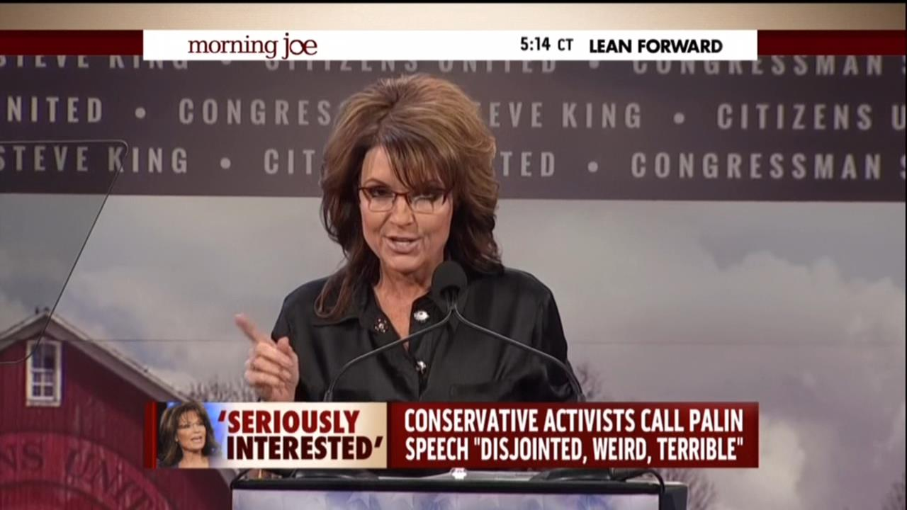 Nicolle wallace mocks palin over iowa speech she s shed those