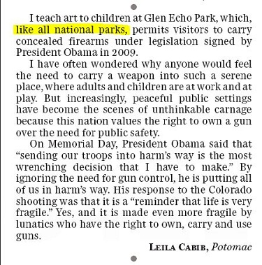 washington post letters to the editor washpost publishes pro gun letter to editor that s 25474